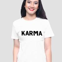 Tumblr Tee / T-Shirt / Kaos Wanita Lengan Pendek Karma
