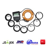 Meike LED Macro Ring Flash FC-110 For Canon-Nikon-Sony-Fujifilm