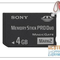harga Sony Memory Stick Pro Duo Mark 2 4gb Psp Tokopedia.com