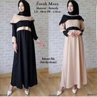 Jual Dress Pesta Farah Maxy Balotelly ( Murah, Casual, grosir ) Murah