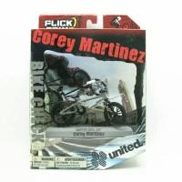 "Sepeda Mini Flick Trix Bmx ""Corey Martinez"" Cycle Star Vehicle Alloy"