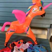 Mainan boneka tiup My Little Pony souvenir anak funny toys play