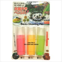 Jual Bento Drawing Pen/Pen Decoration/Bento Tools/Food Decoration Pen Murah
