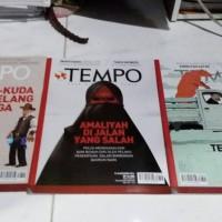 majalah tempo bekas