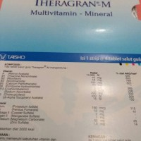 theragram m(multivitamin dan mineral)