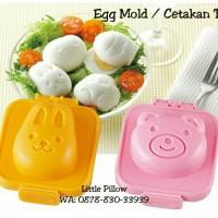 Jual Cetakan Telur/Cetakan Nasi Bento/Rice Mold/Egg Mold Bear Rabbit Murah