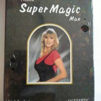 Tisu Tissu Tissue Super Magic Man Hitam Pria