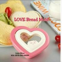 Jual Cetakan Bento LOVE/Rice Mold LOVE/Bread Mold/Sandwich Mold LOVE Murah