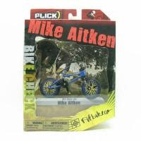 "Seped Mini Flick Trix Bmx ""Mike Aitken"" Cycle Star Vehicle Alloy"