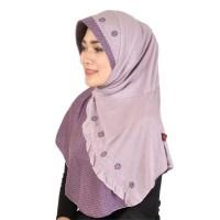 ... Montaza Hijab Jilbab Instan Ungu Kerudung Geblus Pash