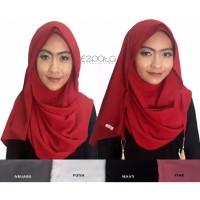 Ezpat Jilbab Pashmina Instan Amira Warna - Putih