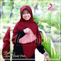Alwa Hijab Jilbab Segi Empat Bolak Balik Premium Bergar