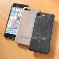 iPhone 7/7 PLUS Wood Silicon Case cover