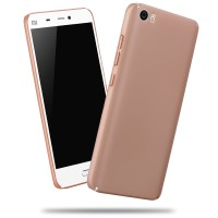 Casing Xiaomi Mi 5 Sand Scrub Ultra Thin Hard Case Rose Gold