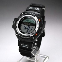 Jam tangan casio pria sgw300h outdoor mendaki altimeter barometer ori