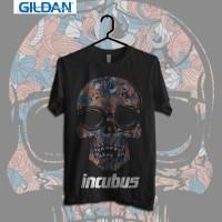 Gildan Custom Tshirt Incubus Fantasy Skull