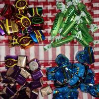 DISKON coklat arab campur 1kg, coklat ali, twistar, alysa, altalyta