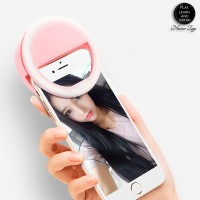 RING LIGHT SELFIE LED for Smartphone Iphone Samsung Xiaomi Oppo Vivo