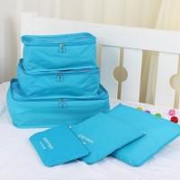 Jual Tas Travel Traveling Bag in Bag Organizer Besar 6in1 (Isi 6pcs) Murah Murah