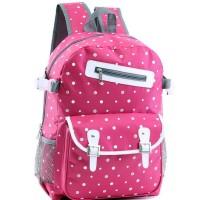 Jual Tas ransel /punggung/gendong/backpack sekolah anak + rain coat GL 5334 Murah