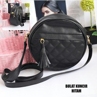 BEST SELLER!!! Sling Bag Bulat Kuncir