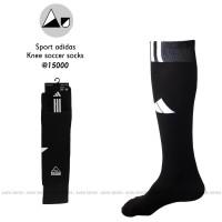 Jual Kaos kaki Futsal /Bola Dewasa Adidas hitam panjang selutut Murah