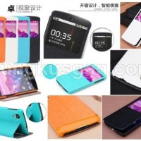 Jual LG Nexus 5 E980 - ROCK Excel Series Leather Case flip cover dompet  Murah