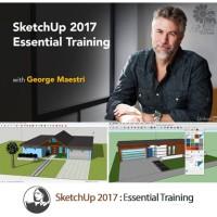 Lynda Tutorial SketchUp Pro 2017 Plus Vray and Plugin Packs Sketch Up