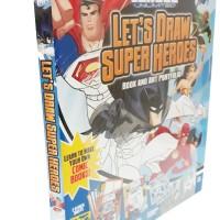 Harga let s draw superheroes buku import anak how to draw belajar   Pembandingharga.com