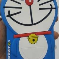 case 4D boneka doraemon samsung J5 prime ( silikon/soft/sarung hp/imut