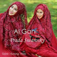 Mukena Brukat Prada AL GANI ORIGINAL by Yulia
