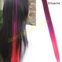 Jual Hair clip rambut ombre warna warni part 1 Murah