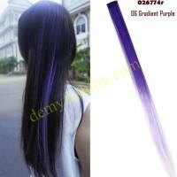 Hair clip rambut ombre warna warni part 2