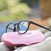 Jual kacamata minus murah bulat (frame+lensa) anti radiasi B046 Murah 32e55c6e54