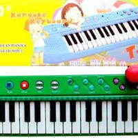 Piano Techno Karaoke Anak + MIC dan 26 Lagu Anak Terbaik Cocok Untuk B