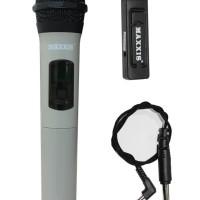 Jual MIC WIRELESS UHF MAXXIS USB MX 888 (50meter) suara mantap BISA GOJEK Murah