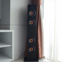 Jual Simbadda Speaker CST 01 Tower (Blutooth, USB, SD Card and Radio) Murah