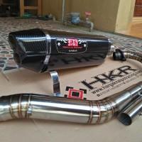 Harga Knalpot Yoshimura R77 Carbon Full System GSX R150