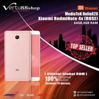 Jual Xiaomi Redmi Note 4X Rose MEDIATEK 4/64GB 4G+Global Distributor Murah