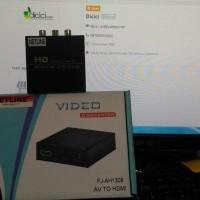 NETLINE AV / RCA (Composite) to HDMI Auto Scaler w/ Adaptor