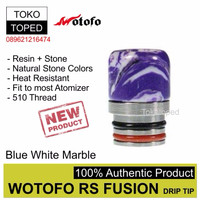 R40 Authentic Wotofo RS Fusion 510 Drip Tip | 3 | driptip resin rda
