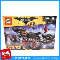 Lego Bricks - BAT HERO batman the movie - the speed wagon SY 873