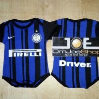 Baju Bola Bayi/Baby Romper Bayi Inter Milan Home 17/18