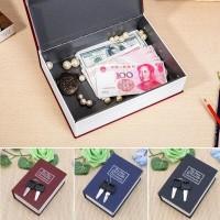 Jual Book Safe Brankas mini portabel-wadah perhiasan rahasia hidden safety Murah
