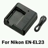 Nikon MH 67 Charger for EN EL 23 baterai model COOLPIX P600 P610 P900