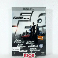 Film DVD Original - Fast And Furious 1-6 Movie Collection
