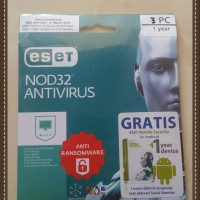 Antivirus Eset Nod 32 3pc/ nod32 antivirus 3 user