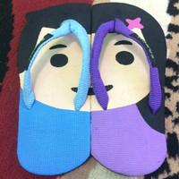 Jual SANCU ( Sandal Lucu ) Girl & Boy Murah