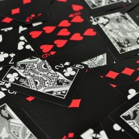 Harga exlusive bicycle card deck black tiger kartu remi original made | Pembandingharga.com