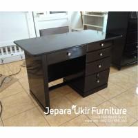 Meja kerja jati, meja kantor kayu jati, meja kerja minimalis, meja